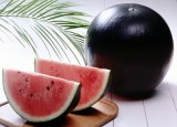 Watermelons can beblack!