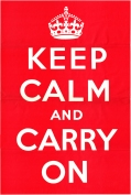 Keep Calm and Carry On 1939 MOI Original Poster 800px