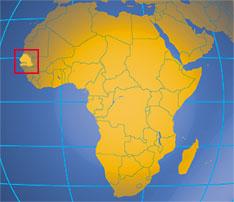 Senegal is in Africa